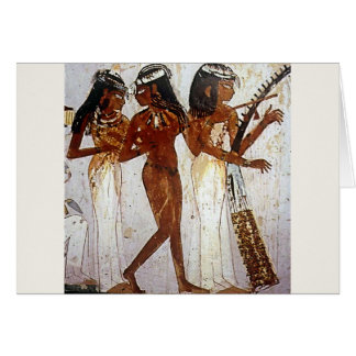 Cartes Musique égyptienne antique