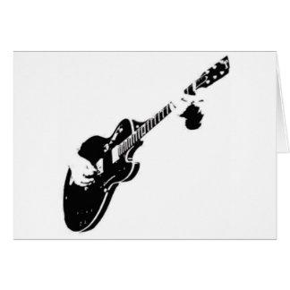 Cartes Musique - guitare