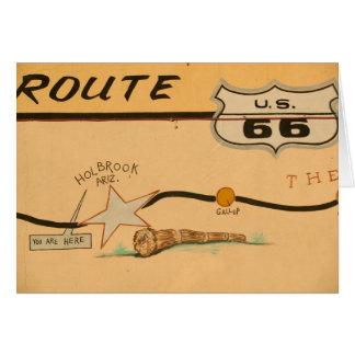 Cartes Na, Etats-Unis, Arizona, peinture murale de route