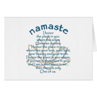 Cartes Namaste Lotus