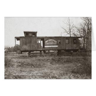 Cartes Nashville et cambuse atlantique de chemin de fer
