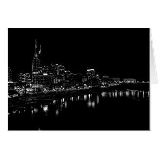 Cartes Nashville la nuit