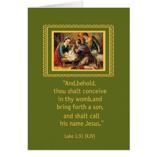 Cartes Nativité