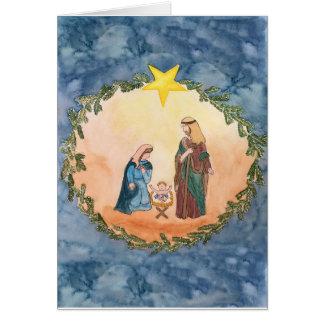 Cartes Nativité de Noël