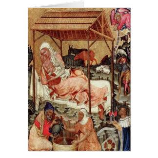 Cartes Nativité = Meister von Hohenfurth 1430.