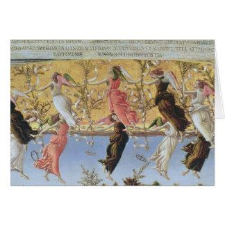 Cartes Nativité mystique