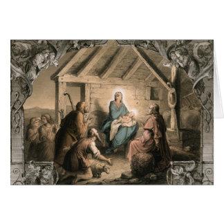 Cartes Nativité vintage
