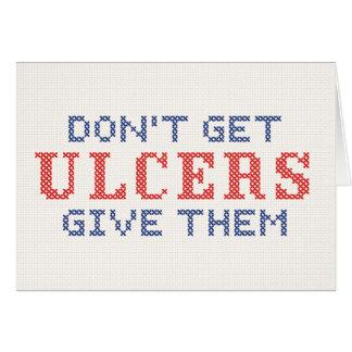Cartes N'attrapez pas les ulcères