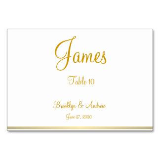 Cartes nautiques d'endroit de mariage d'or blanc