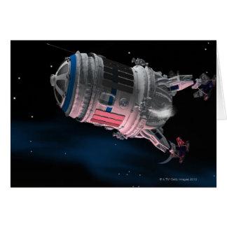 Cartes Navette spatiale satellisant Mars