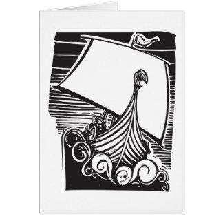 Cartes Navigation de drakkar de Viking