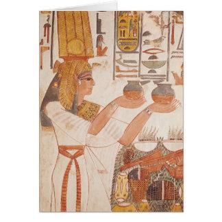 Cartes Nefertari faisant une proposition