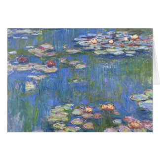 Cartes Nénuphars de Claude Monet //