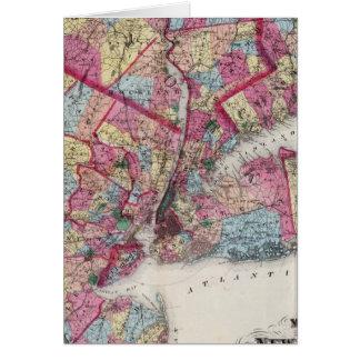 Cartes New York et proximité