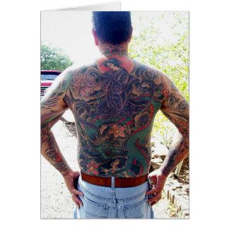 Cartes newartsweb - maman j'ai obtenu un tatoo !