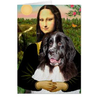 Cartes Newfie (Landseer3) - Mona Lisa