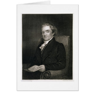 Cartes Noah Webster (1758-1843) gravé par Frederick W.