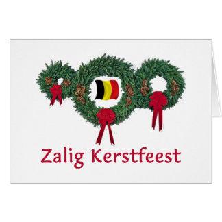 Cartes Noël 2 de la Belgique