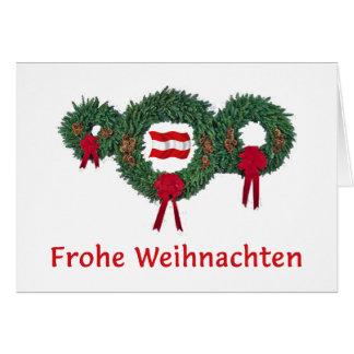 Cartes Noël 2 de l'Autriche