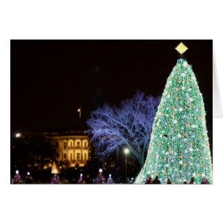 Cartes Noël à la Maison Blanche