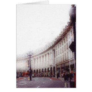 Cartes Noël à Londres