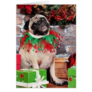 Cartes Noël - carlin - lis Lou