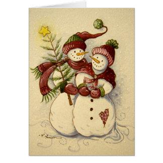 Cartes Noël de 4924 bonhommes de neige