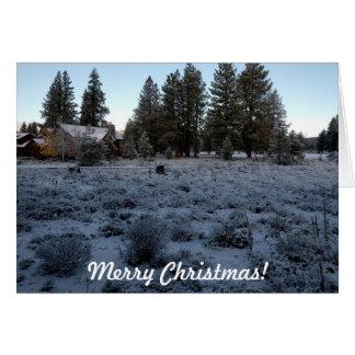 Cartes Noël de cabine de Milou