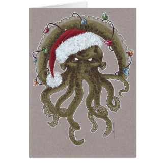 Cartes Noël de Cthulhu