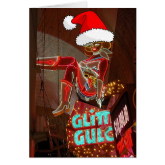 Cartes Noël de Gulch de scintillement de Las Vegas