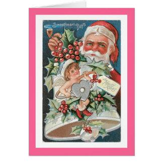 Cartes Noël de jours d'amoureux