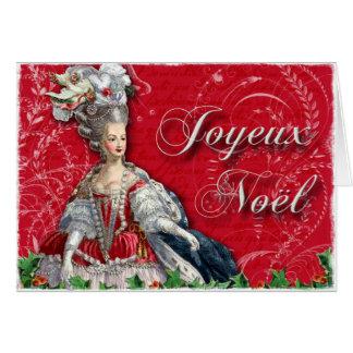Cartes Noël de Joyeux Noel Marie Antoinette