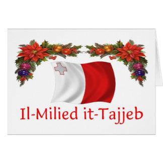 Cartes Noël de Malte