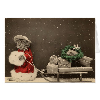 Cartes Noël de Meowy