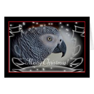 Cartes Noël de Milou de gris africain