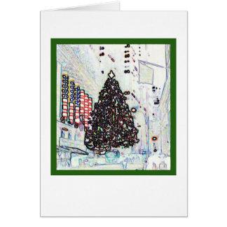 Cartes Noël de New York