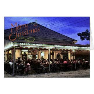 Cartes Noël de quartier français