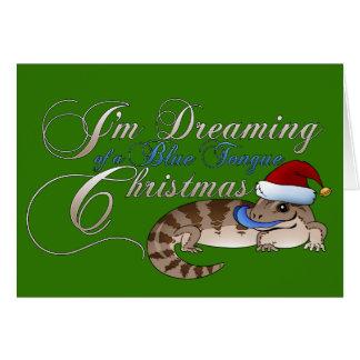 Cartes Noël de Skink de la fièvre catarrhale ovine