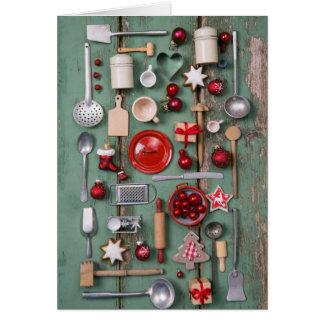 Cartes Noël de style campagnard