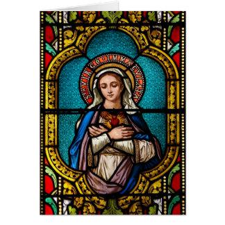 Cartes Noël de Vierge Marie