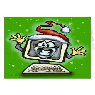 Cartes Noël d'ordinateur