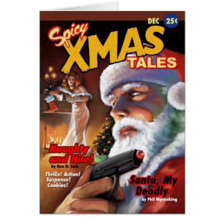 Cartes Noël épicé