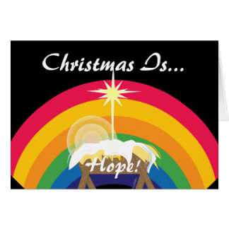 Cartes Noël est espoir ! - Personnaliser