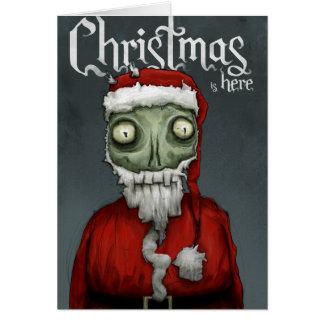 Cartes Noël est ici