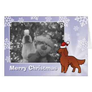Cartes Noël irlandais/anglais/poseur de Gordon/R&W