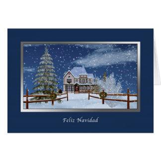 Cartes Noël, langue espagnole, Feliz Navidad