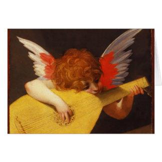 Cartes Noël musical de cru d'ange