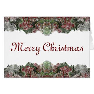Cartes Noël perlé