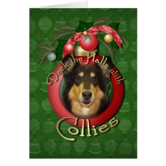 Cartes Noël - plate-forme les halls - colley - Caroline