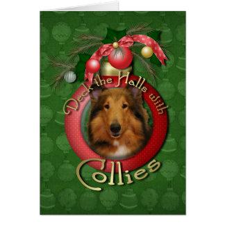 Cartes Noël - plate-forme les halls - colley - Natalie